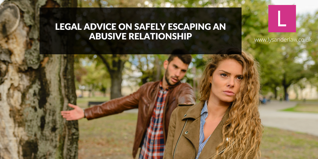 Advice on safely escaping an abusive relationship