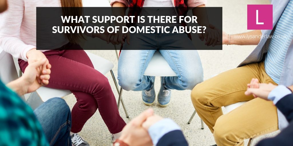 What support is there for survivors of domestic abuse?