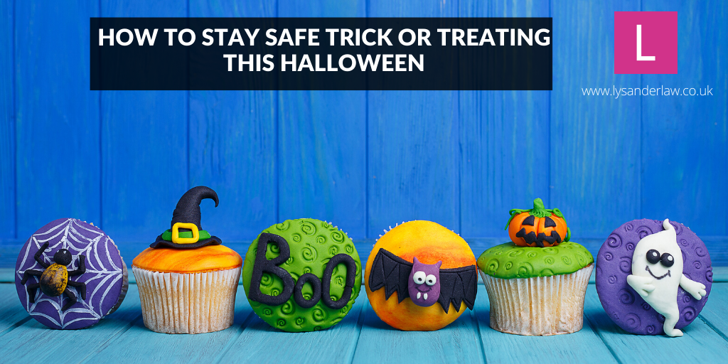 How to stay safe trick or treating this Halloween