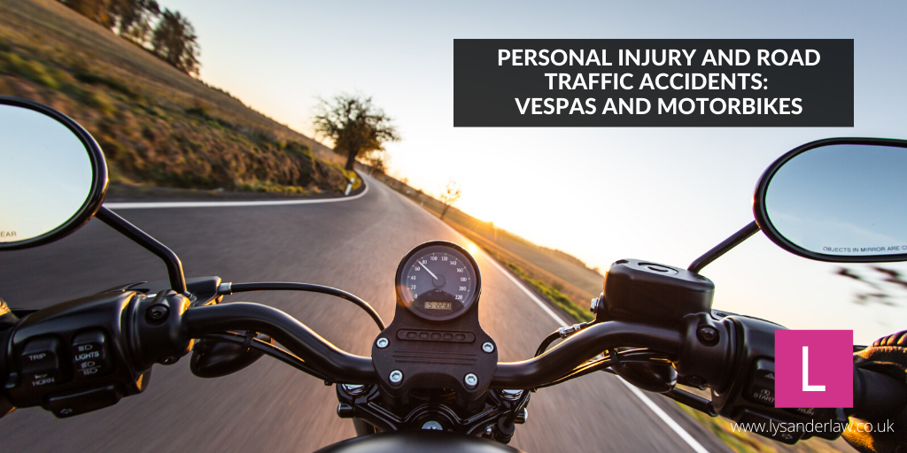 Personal Injury and Road Traffic Accidents: Vespas and Motorbikes